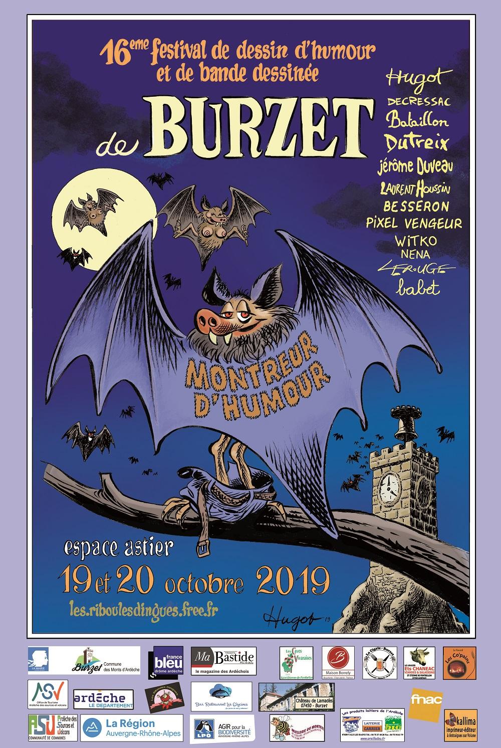 Festival De Bande Dessinee D Humour De Burzet 2019
